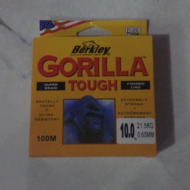 Combo 3 cuộn Dây cước Gorilla Berkiey