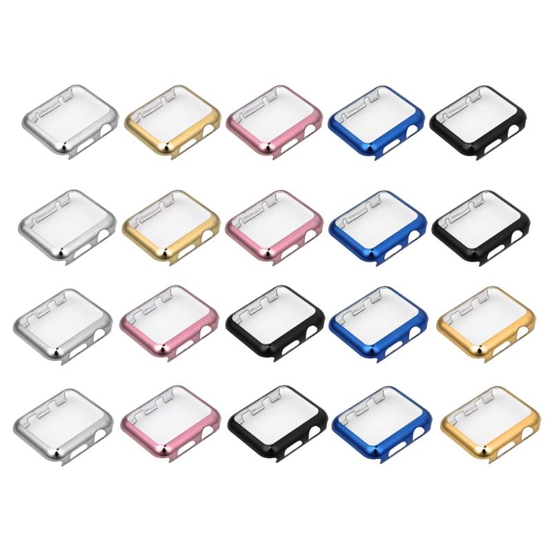 Ốp lưng bảo vệ toàn màn hình siêu mỏng Vỏ máy tính cho Apple Watch Series 1 2 38 / 42mm