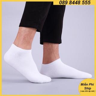 Tất cotton phụ kiện đá bóng nam sợi dệt loại ngắn, vớ thời trang thể thao sale rẻ đẹp 2EV thumbnail