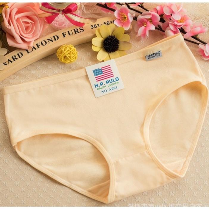 Quần lót cotton Pulo nhiều màu co giãn - quần con nữ | SaleOff247