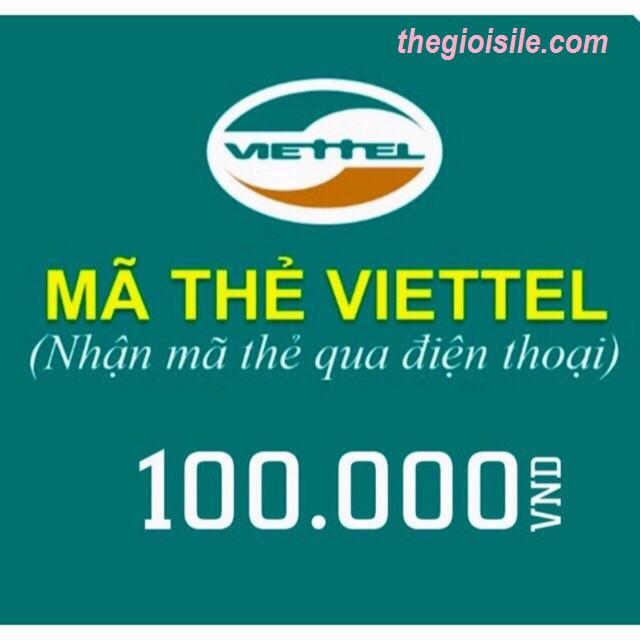 Mã thẻ nạp điện thoại viettel 100k - 9944307 , 1026946402 , 322_1026946402 , 100000 , Ma-the-nap-dien-thoai-viettel-100k-322_1026946402 , shopee.vn , Mã thẻ nạp điện thoại viettel 100k