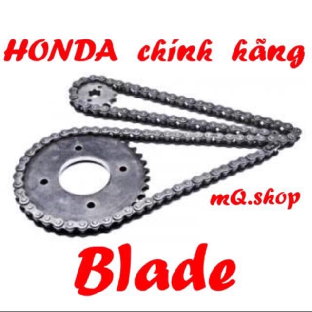 Bộ nhông xích đĩa xe máy Blade HONDA chính hãng, Bộ nhông sên đĩa xe máy Blade HONDA chính hãng