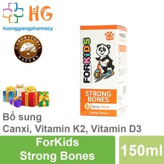 [Kèm Quà Tặng] Forkids Strong Bones - Bổ sung Canxi, Vitamin D3, Vitamin K2. Giúp bé phát triển chiều cao vượt trội