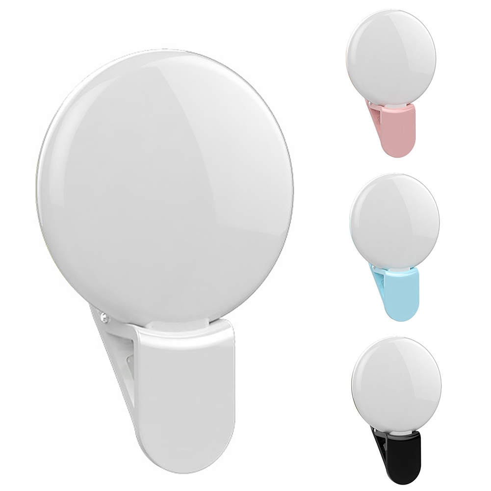 Light Weight UV Make-Up Mirror Selfie Flash With Cla Fill