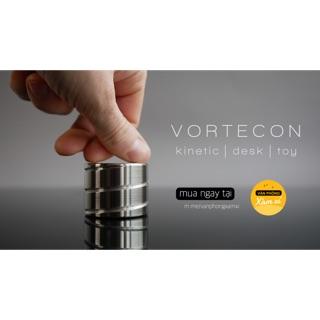 Trụ quay thôi miên bất tận bạc đường kính 40MM – Vortecon Kinetic