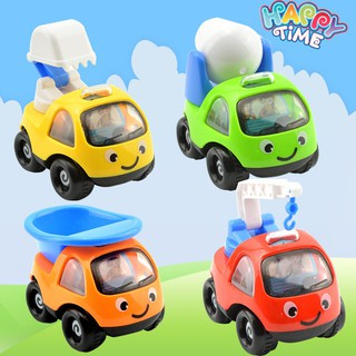 Q version inertia car mini cartoon inertia engineering car children model toy