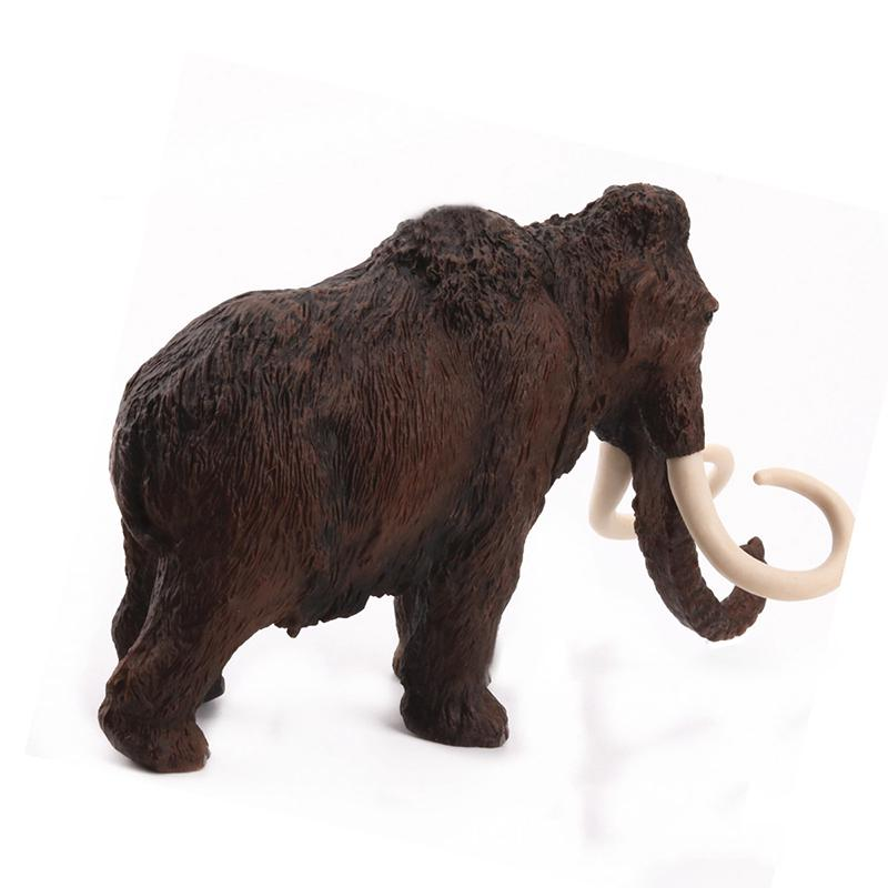 Mammoth High Woolly Elephant Simulated Model Action Figures Kids Toy Gift