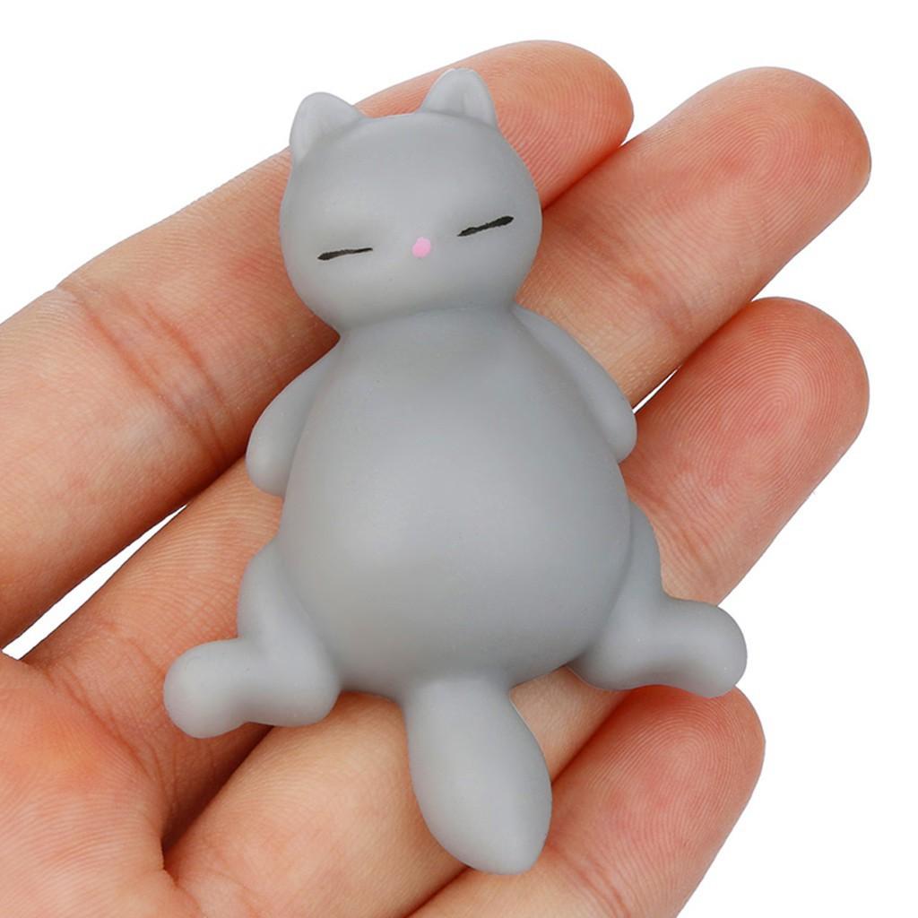Đồ chơi mềm dẻo giảm stress hình chú mèo dễ thương|Loamini565