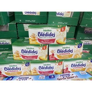 [HÀNG PHÁP-DATE MỚI] Sữa nước Bledina các vị lốc 4 hộp 250ml.