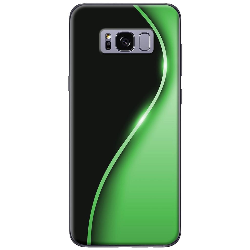 Ốp lưng Samsung S8/S8 plus Đường cong xanh