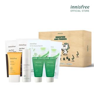Bộ sản phẩm dưỡng da và chống nắng lâu trôi làm sáng da innisfree Intensive Triple Care Sunscreen Set thumbnail