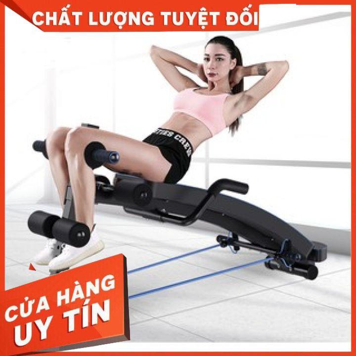 Máy tập lưng bụng đa chức năng thế hệ mới - Ghế cong tập cơ bụng Yidakang chịu lực cao cấp