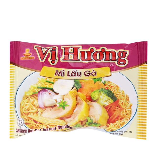 Mì Vị Hương Lẩu Gà Thiên Hương Gói 65G