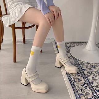Giày Mary Jane gót Chunky 6cm (Ảnh thật ở cuối)