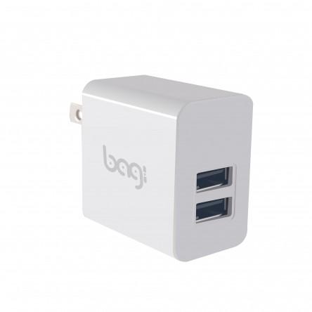 Sạc nhanh Bagi 2 cổng USB/PA - M23