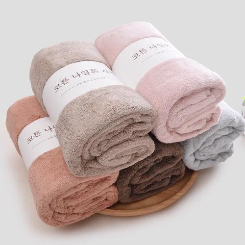 Khăn tắm bông cao cấp xuất Hàn 70x140cm