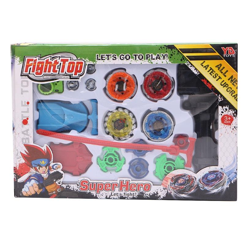 (MỚI) Con quay đồ chơi 4D bằng kim loại