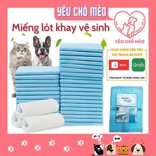 Miếng lót khay vệ sinh chó mèo - tã lót khay vệ sinh chó mèo siêu thấm hút thumbnail