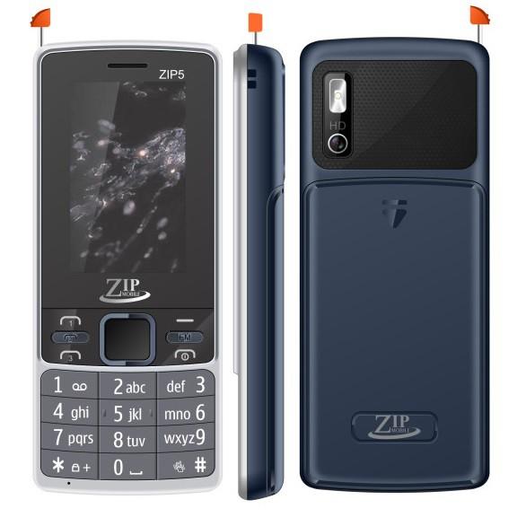 Điện Thoại ZIP Mobile ZIP5 3 SIM Loa To Pin Khủng Khiêm Sạc Dự Phòng Kết Nối Bluetooth Hàng Chính Hã - 3182974 , 1265423351 , 322_1265423351 , 599000 , Dien-Thoai-ZIP-Mobile-ZIP5-3-SIM-Loa-To-Pin-Khung-Khiem-Sac-Du-Phong-Ket-Noi-Bluetooth-Hang-Chinh-Ha-322_1265423351 , shopee.vn , Điện Thoại ZIP Mobile ZIP5 3 SIM Loa To Pin Khủng Khiêm Sạc Dự Phòng Kế