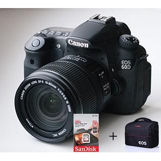 Máy ảnh canon 60d + lens 18-55 STM 97%