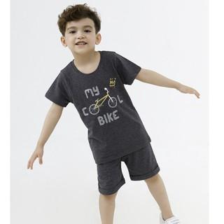 Bộ áo quần thun ngắn tay bé trai Rabity 90177.90087