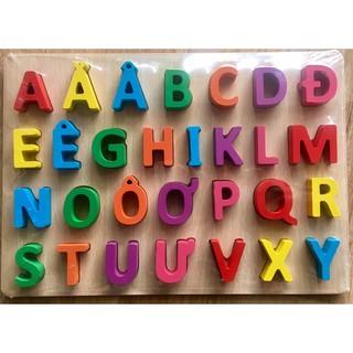 [HOT]Bảng chữ cái nổi tiếng Việt 20x30cm cho bé – Toca Toys