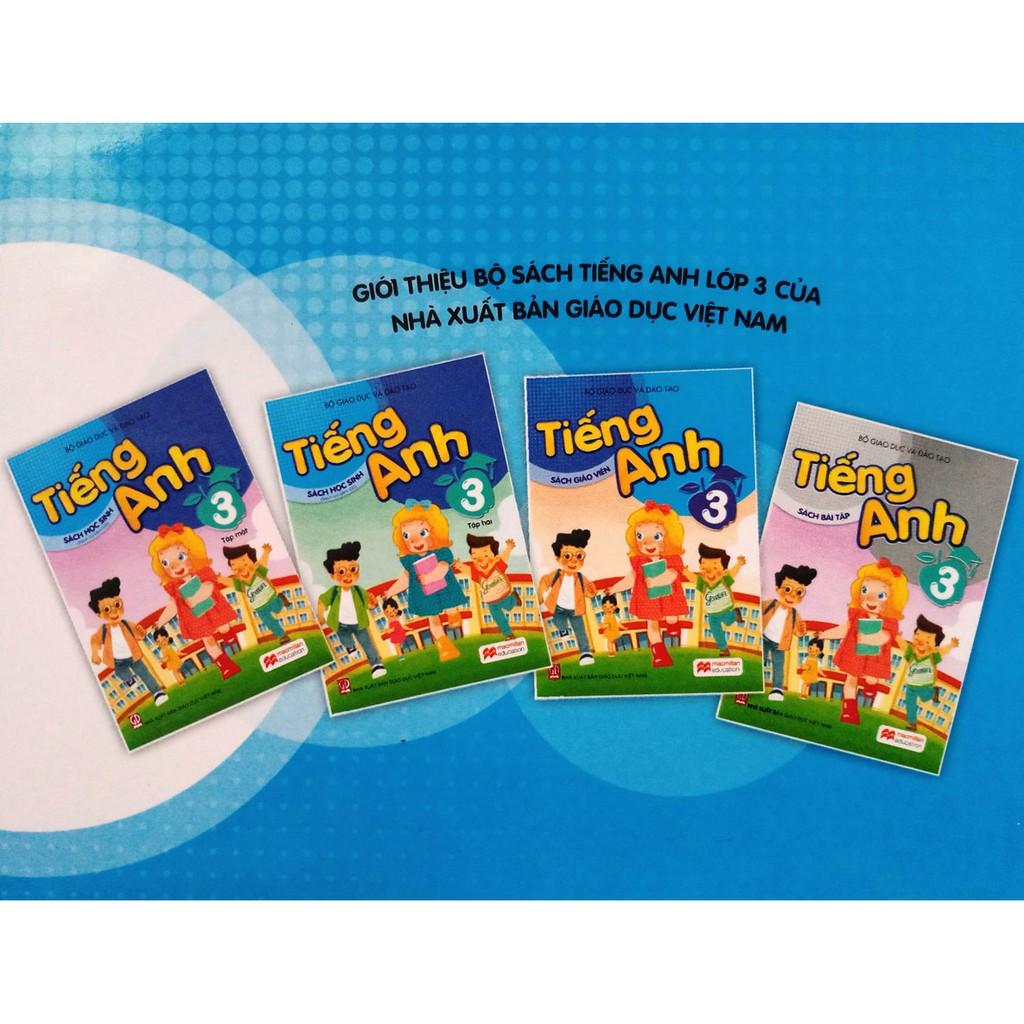 Sách - Tiếng Anh 3 - tập một (không kèm đĩa CD)