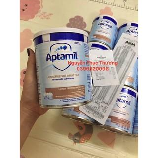 Sữa Aptamil Freelactose UK cho bé bất dung nạp Lactose 400gr bay air 100% đủ bill store