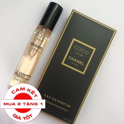 [MINI]  Nước hoa nữ hương Chanel Coco Noir  - Mua 2 tặng 1