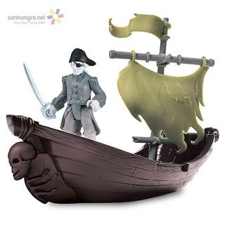 Đồ chơi Cướp biển Caribe : Thuyền, xe bắn đá và cướp biển