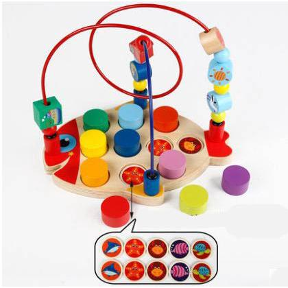 Funny building blocks digital pairing cognitive toys