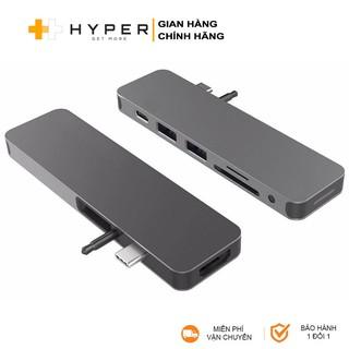 [Mã ELMALL300 giảm 7% đơn 500K] Cổng chuyển HyperDrive 7-in-1 Solo USB-C Hub cho Macbook, PC & Devices