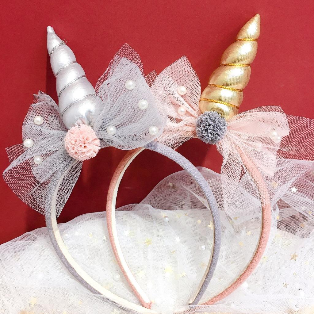 Headbands Pearl New Kids Bow-knot Hair Accessories