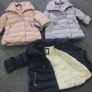 Áo phao lót lông hàng dư xịn cực đẹp😍😍 trộn 3 mầu hồng xanh than và ghi xanh mầu rất tây luôn😊 size từ 1 đến 5 tuổi😘