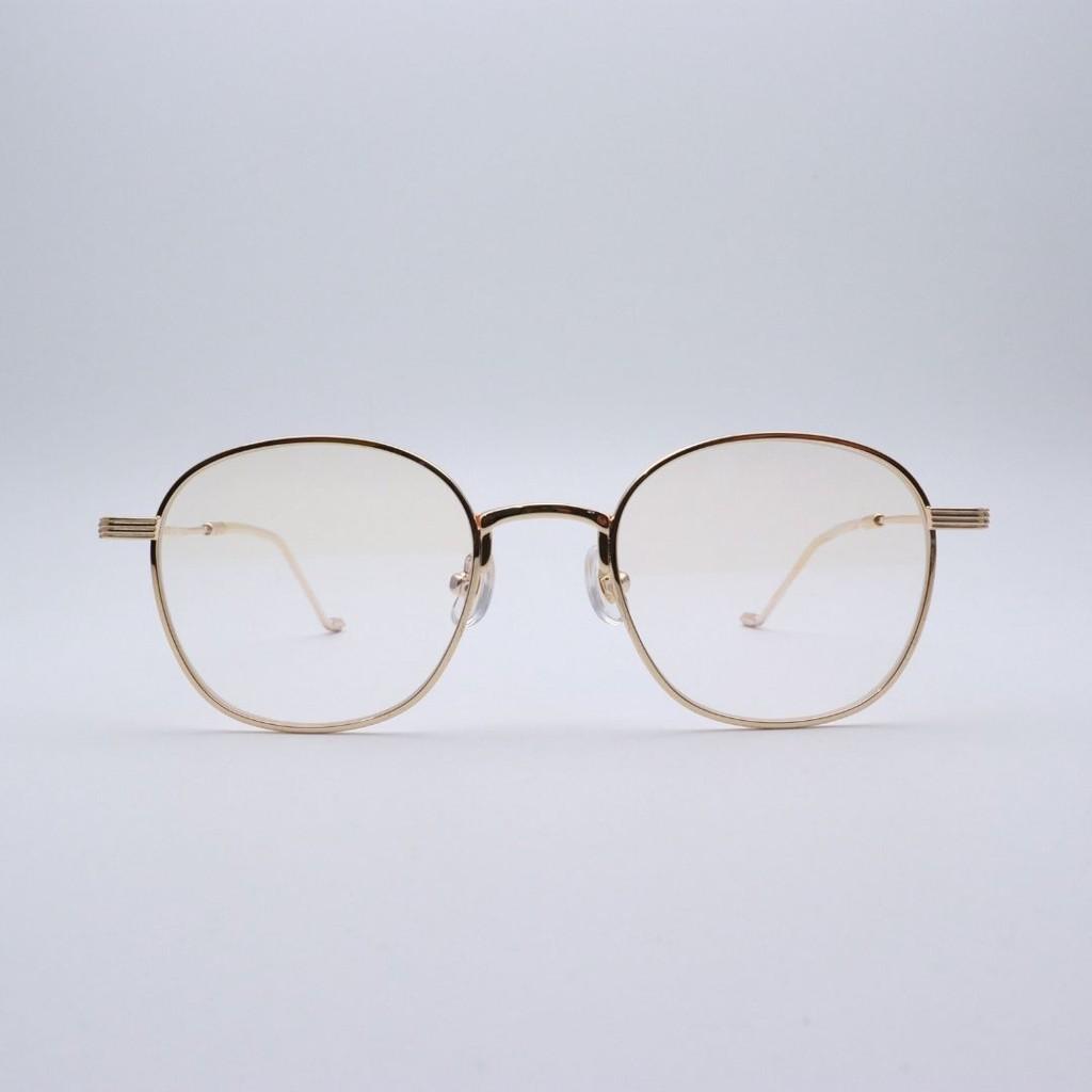 Gọng kính cận nam nữ, thiết kế nhựa pha kim loại siêu bền Bloom Eyewear 52009
