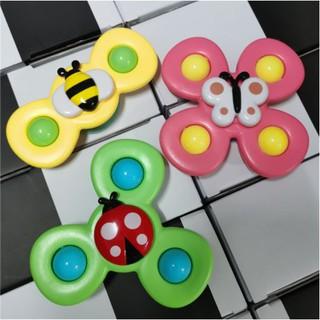 Set 3 Con Quay Đồ Chơi Spinner Kiểu Dáng Hoạt Hình Cho Bé- Niki Store thumbnail