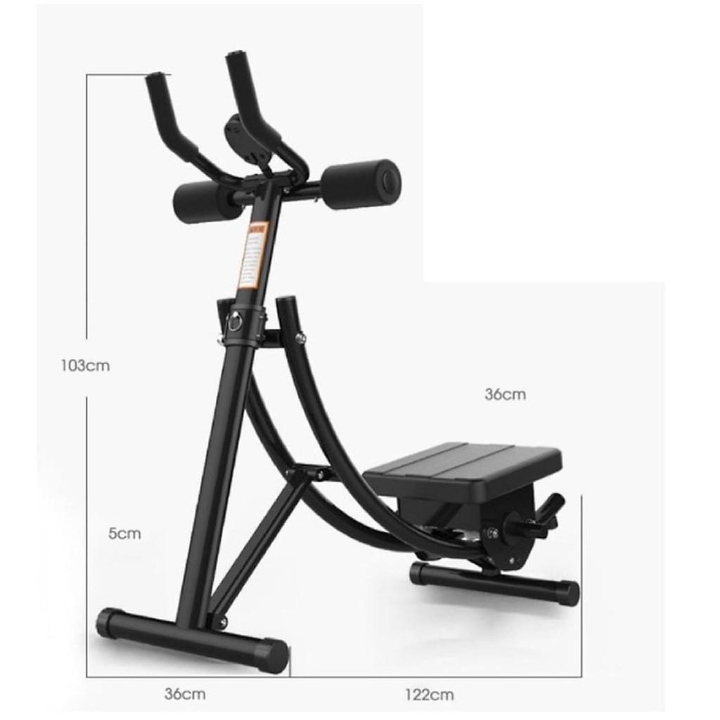Máy tập cơ bụng, lưng, tay, ngực, hông, eo đa năng Elip AB Gym chính hãng thế hệ 4.0 - Tặng đồng hồ đo chỉ số vận động