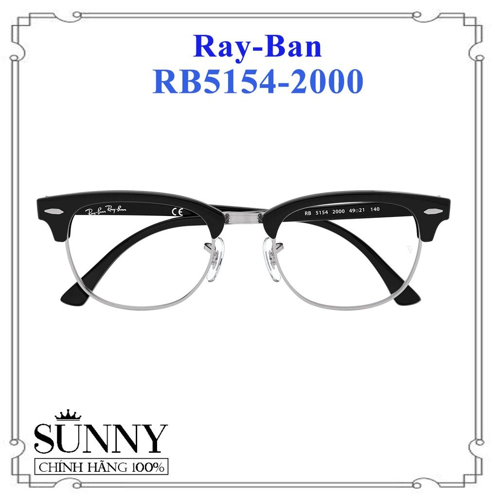 RB5154-2000 - Kính gọng Ray-Ban chính hãng, bảo hành toàn quốc, kèm tem chống hàng giả của bộ công an cấp