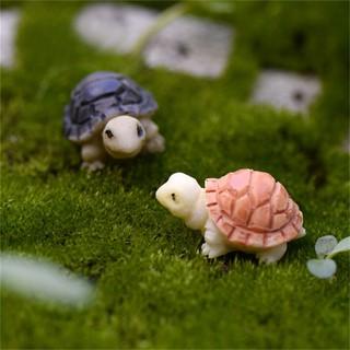10pcs Miniature Tortoise Bonsai Fairy Garden Landscape Home Dollhouse Decor