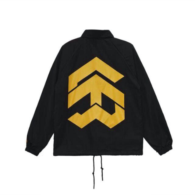 Jacket 5theway Black/Yellow