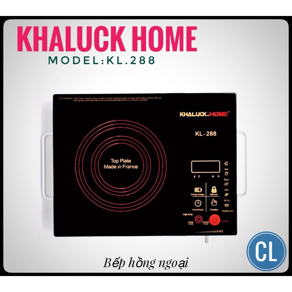[HOMEMALL0118 TỐI ĐA 70K] Bếp hồng ngoại Khaluck KL-288