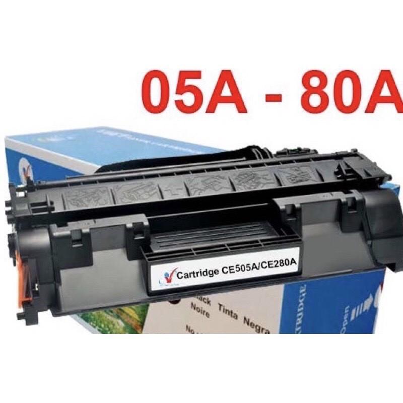 (Full Box)Hộp mực 05A/80A-HP Pro 400 M401N/M401D/425DN/P2035/P2055D -Canon 251DW /252DW /MF416DW,416DW - CE505A CF280A