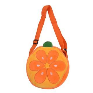 children Fruit orange cartoon Single Shoulder Bag Messenger Bag