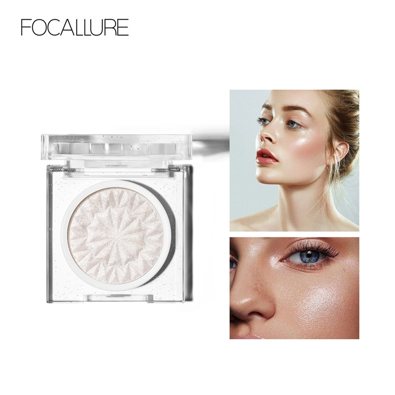 Phấn bắt sáng FOCALLURE phối nhũ lấp lánh mang lại hiệu ứng hoàn hảo cho gương mặt 3g