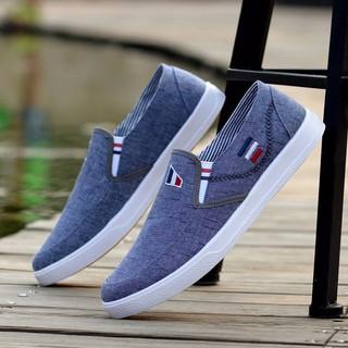Giày lười vải nam LSG07 – Đế mềm