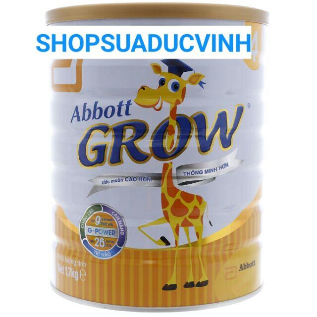 Sữa bột Abbott Grow 4 1.7Kg date 12/2020
