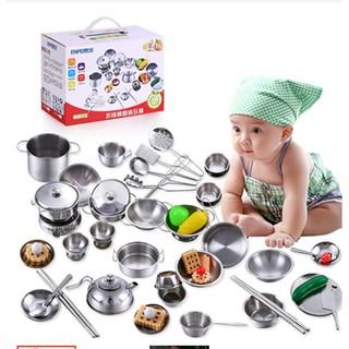 Bộ nấu ăn INOX cho bé