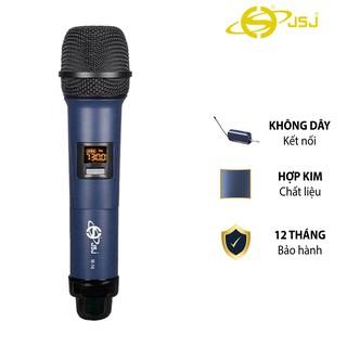 Micro karaoke không dây cao cấp JSJ W-14 tích hợp màn hình led chuyên nghiệp,bề mặt sử dụng công nghệ sơn tĩnh điện