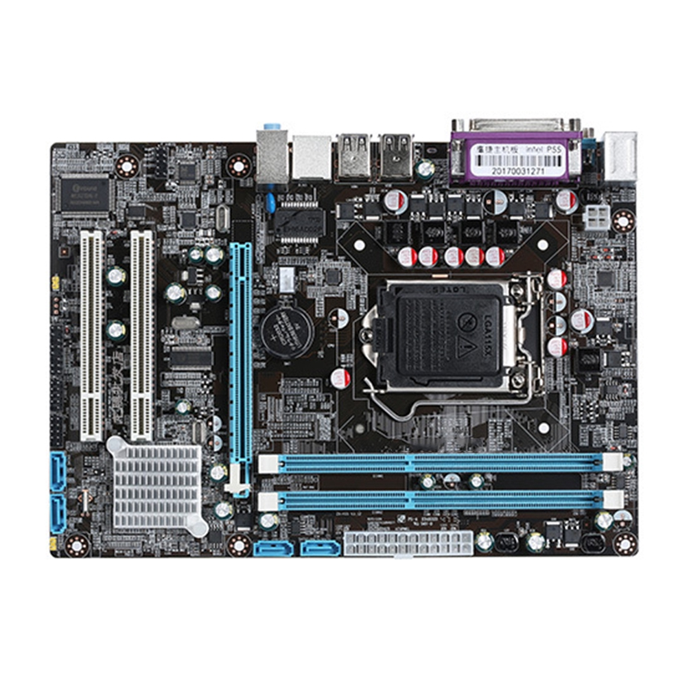 Intel P55 Stable Fast Wide Use Home Replacement Dual Channels Office DDR3 Motherboard