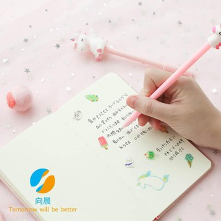 [Spot] Unicorn Creative Gift Box Handbook Pink Student Notebook Cartoon Notepad